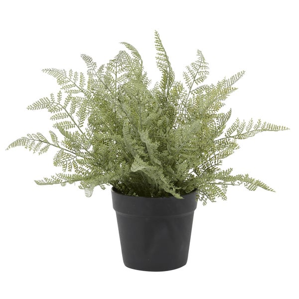 Artificial Fern Pot