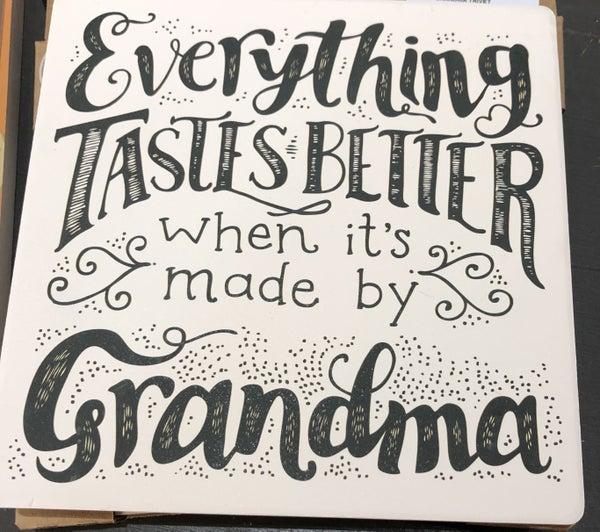 Grandma trivet