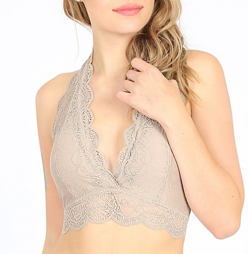 Halter Lace Bralette