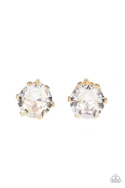 Delicately Dainty - Gold Earrings