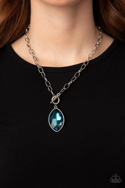 Unlimited Sparkle - Blue Necklace