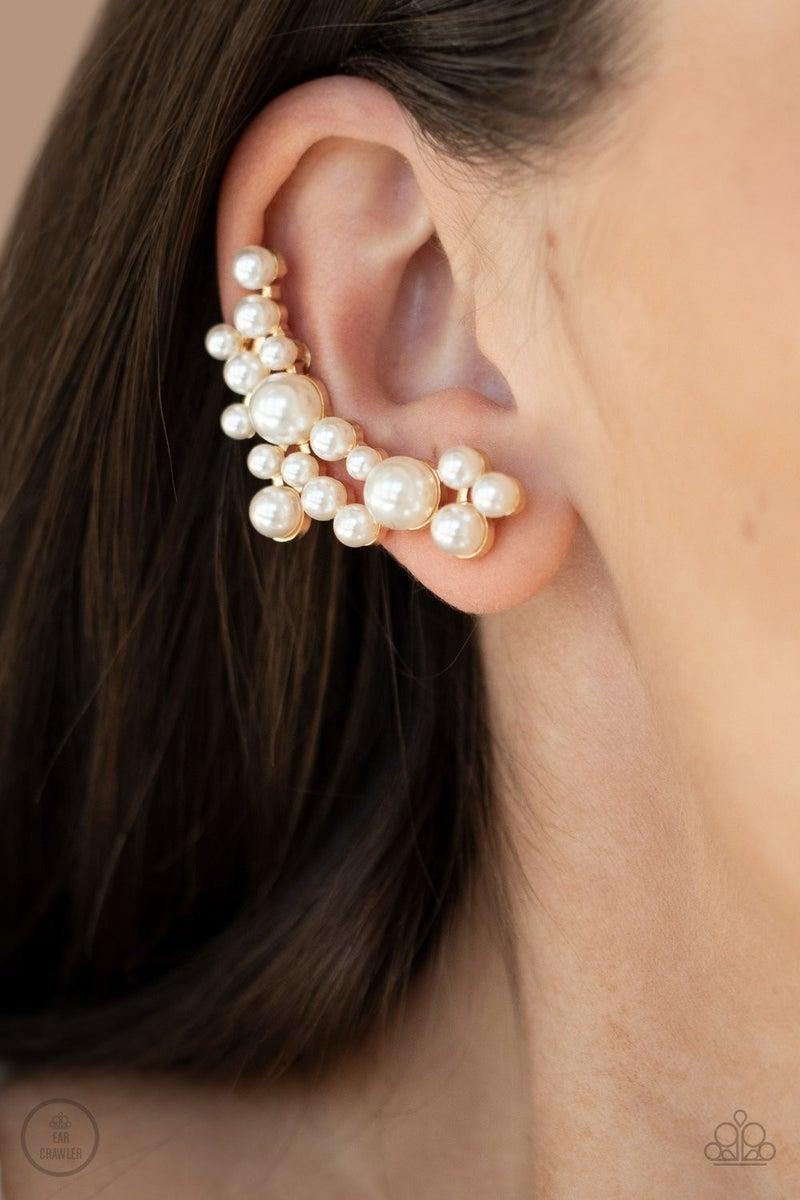Metro Makeover - Gold Earrings