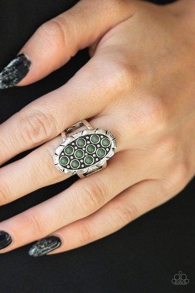 Cactus Garden - Green Ring