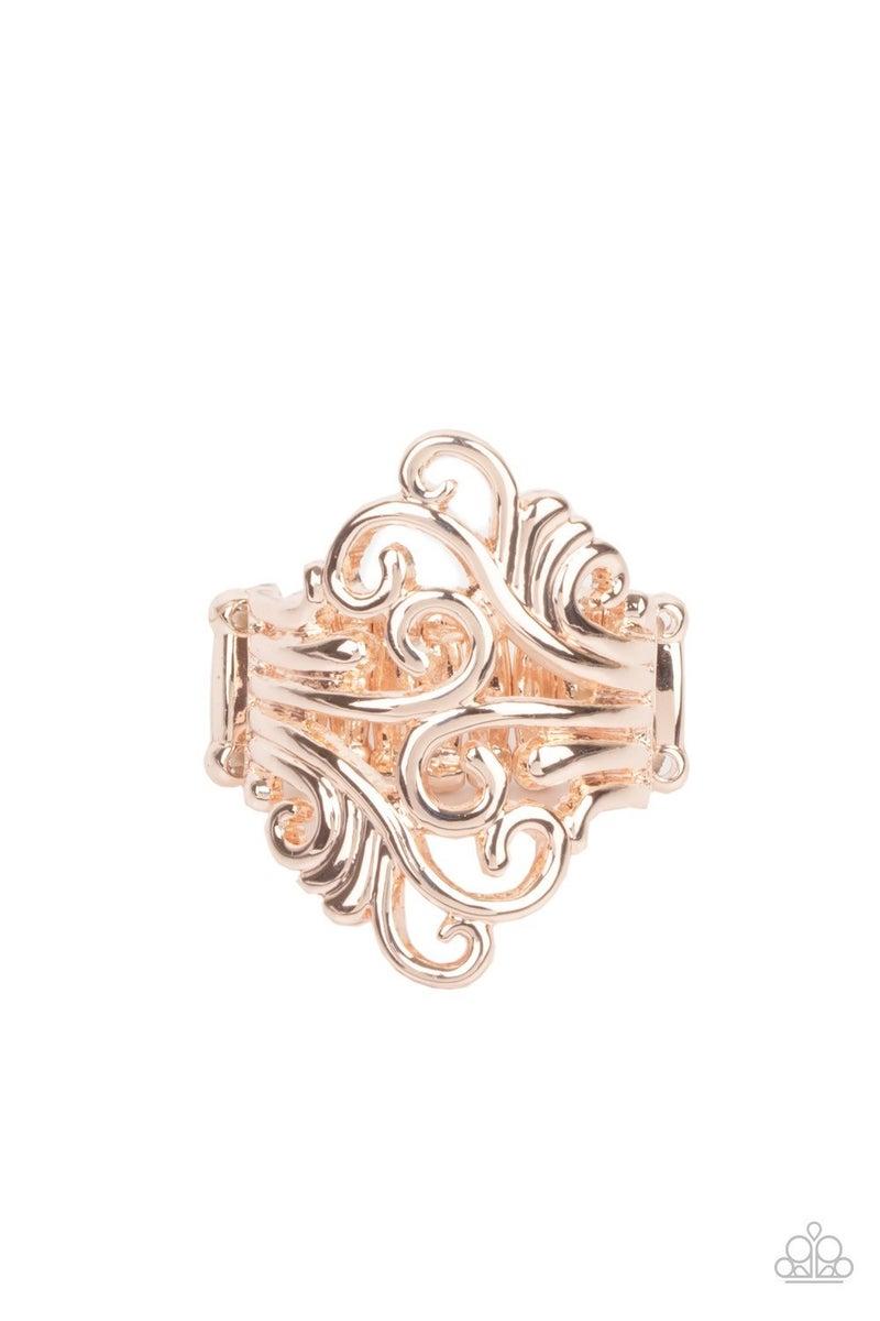 Voluptuous Vines - Rose Gold Ring