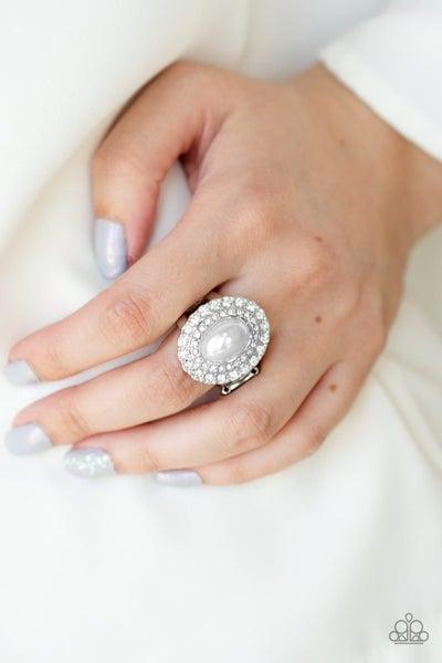 Sprinkle On The Shimmer - White Ring