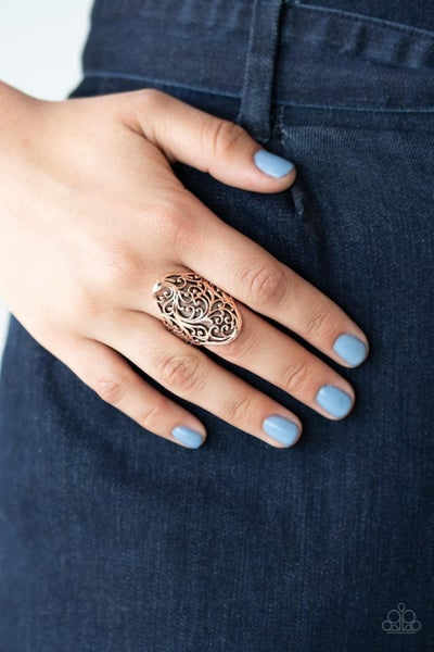 Vine Vibe - Copper Ring