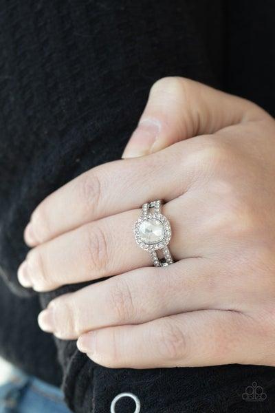 Countess Charm - White Ring
