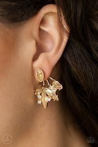 Jewelry Deco Dynamite - Gold Earrings
