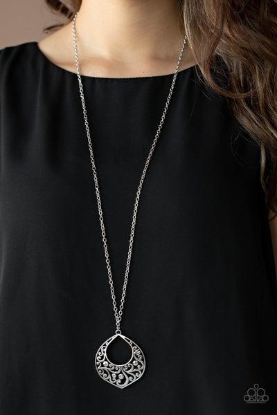 Venetian Vineyards - Silver Necklace