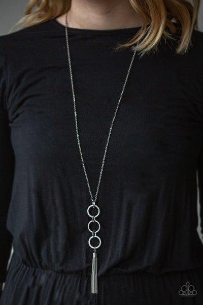 Diva In Diamonds - White Necklace