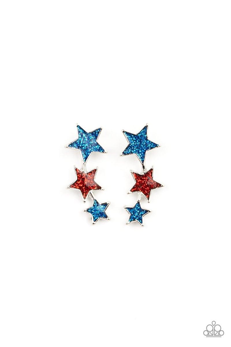 Starlet Shimmer - July Star Earrings