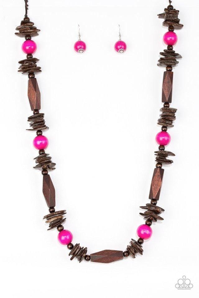 Cozumel Coast - Pink Necklace
