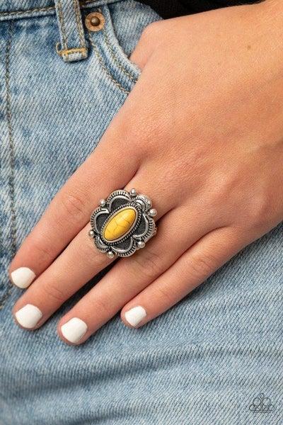 Sage Garden - Yellow Ring