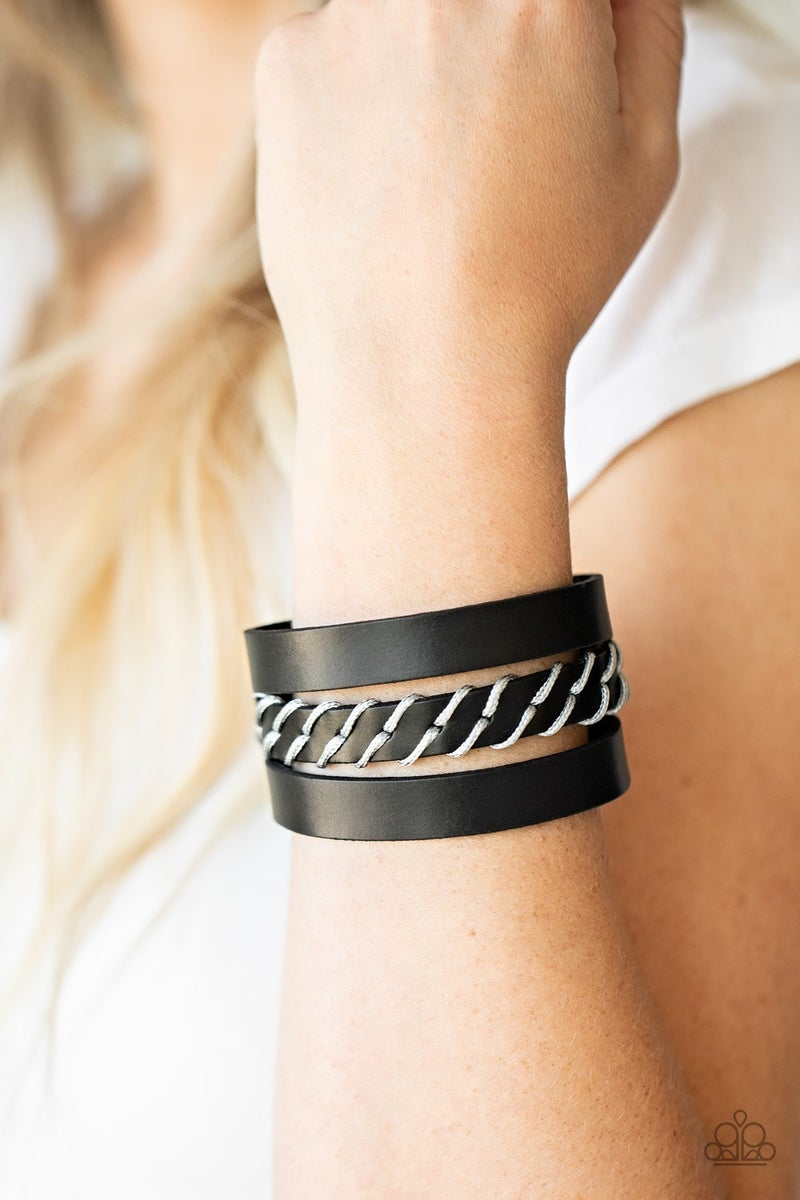 Backroad Bounty - Black Urban Bracelet