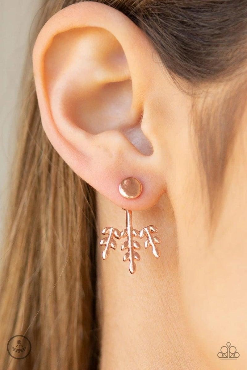 Autumn Shimmer - Copper Earrings