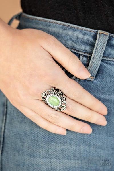 Dashingly Dewy - Green Ring