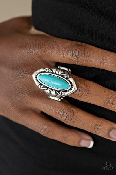 Santa Fe Serenity - Blue Ring