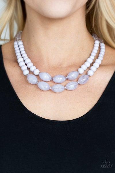 Sundae Shoppe - Silver Necklace