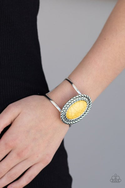 Desert Aura - Yellow Cuff