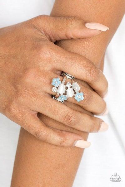 Daisy Delight - Blue Ring