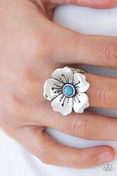 Boho Blossom - Blue Ring