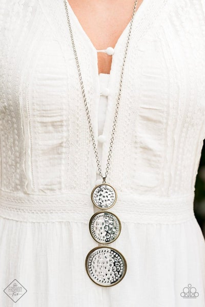 Buckle Down - Multi Necklace