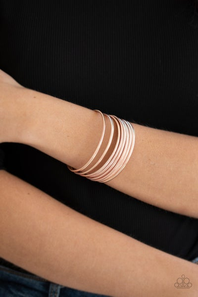 Now Watch Me Stack - Rose Gold Cuff