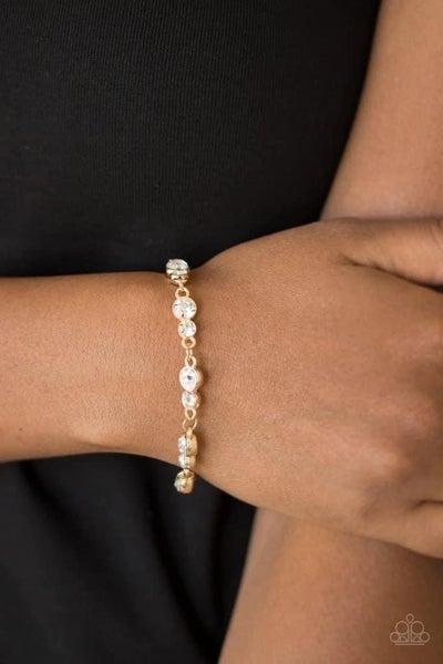 Twinkle Twinkle Little STARLET - Gold Clasp Bracelet
