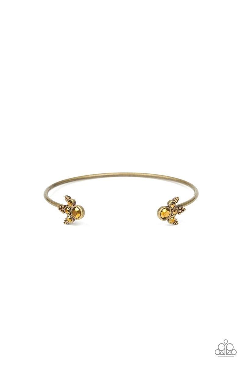 A Bit Rich - Brass Cuff