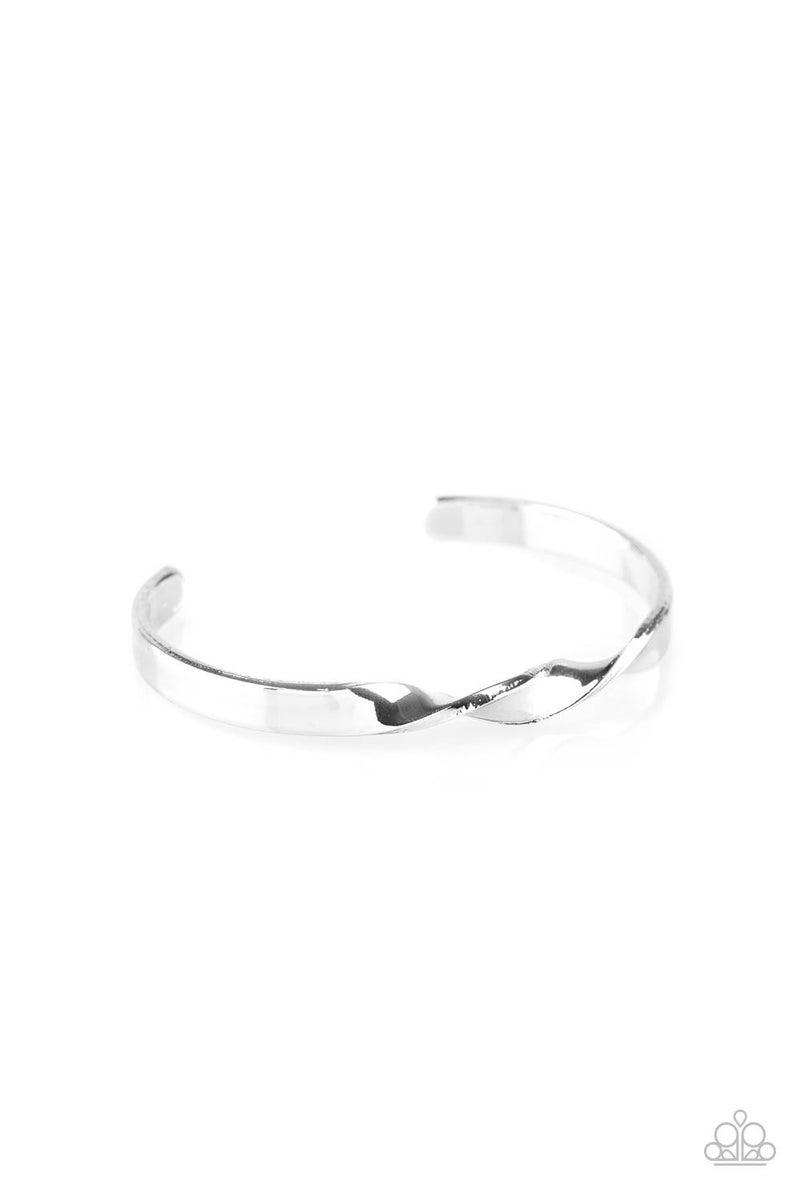Traditional Twist - Silver Cuff