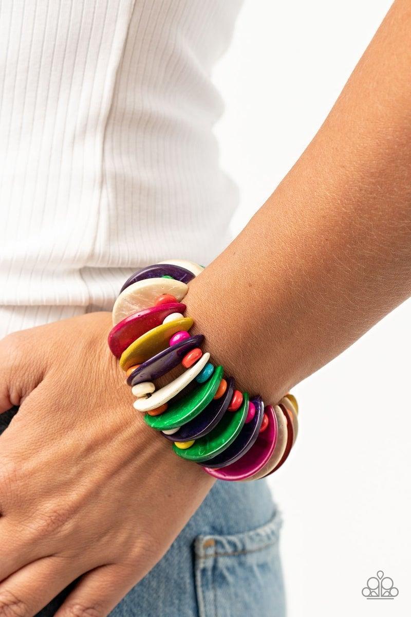 Tropical Tiki Bar - Multi Stretchy Bracelet