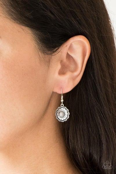 Badlands Buttercup - Silver Earrings
