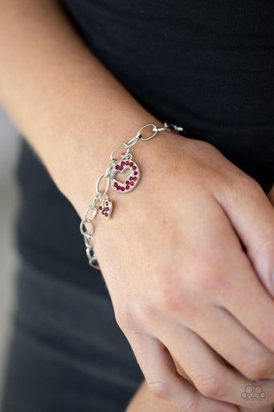 Move Over Matchmaker! - Red Clasp Bracelet
