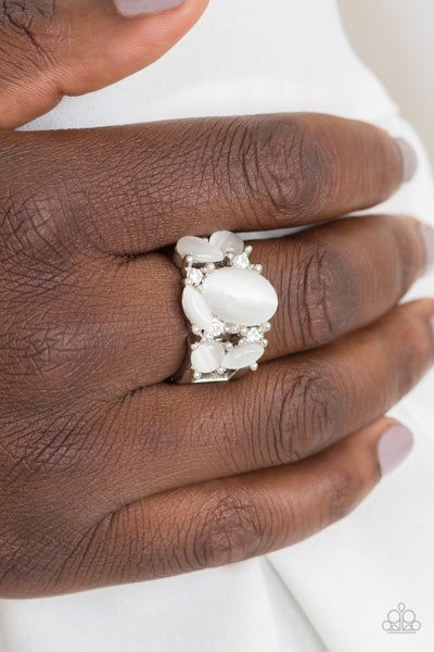 Modern Moonwalk - White Ring