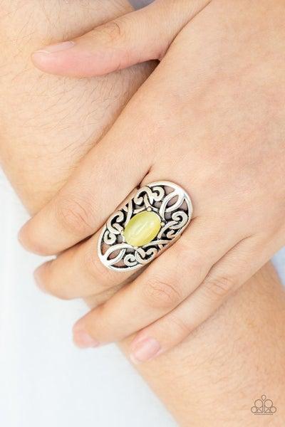GLEAM Big - Yellow Ring
