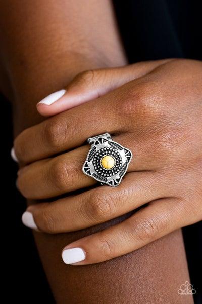 Four Corners Fashion - Yellow Ring
