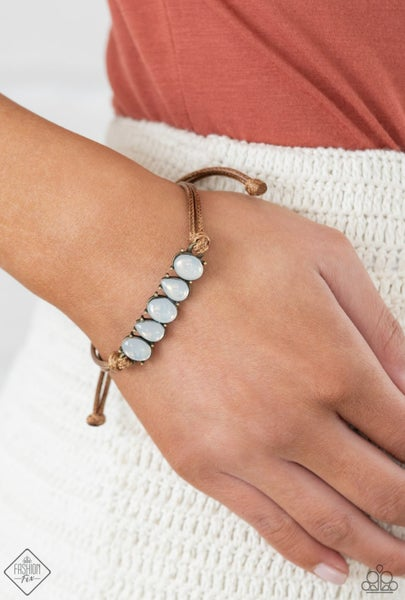 Opal Paradise - Brass Bracelet - May 2021 Fashion Fix