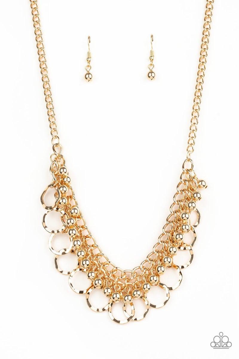 Ring Leader Radiance - Gold Necklace