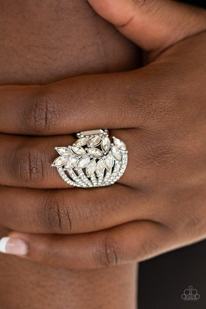 Clear-Cut Cascade - White Ring
