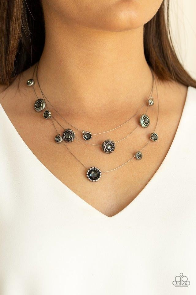 SHEER Thing! - Silver Necklace