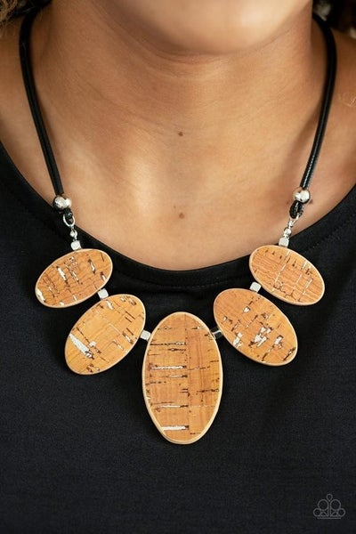 Nature's Finest - Brown Necklace