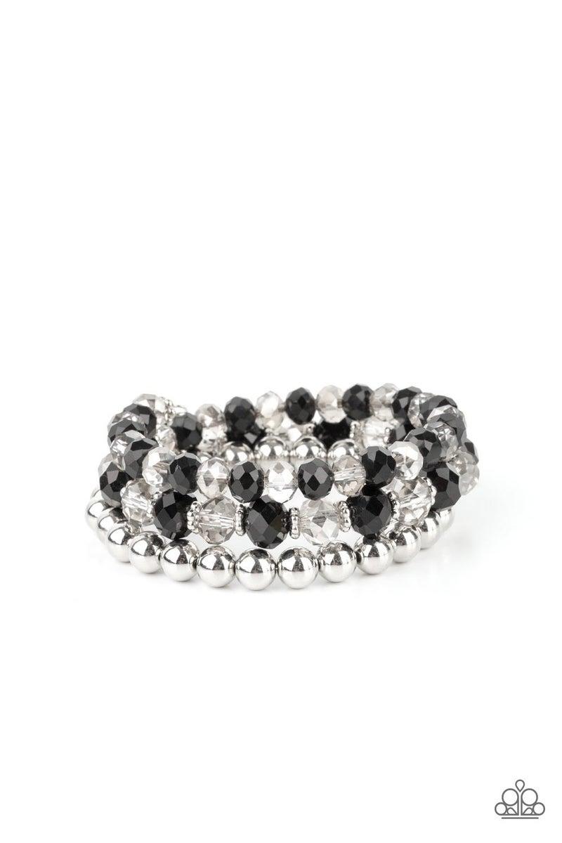 Gimme Gimme - Black Coil Bracelet