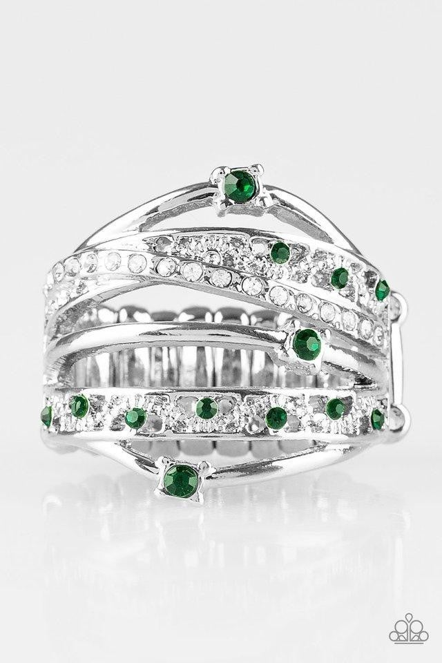 Making The World Sparkle - Green Ring