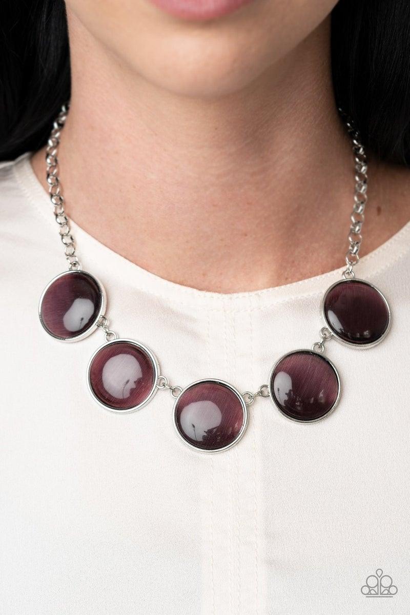 Ethereal Escape - Purple Necklace