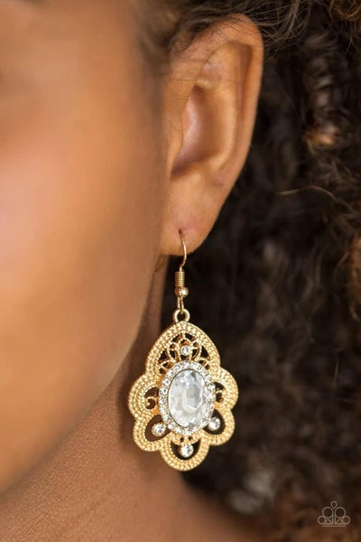 Reign Supreme - Gold Earrings