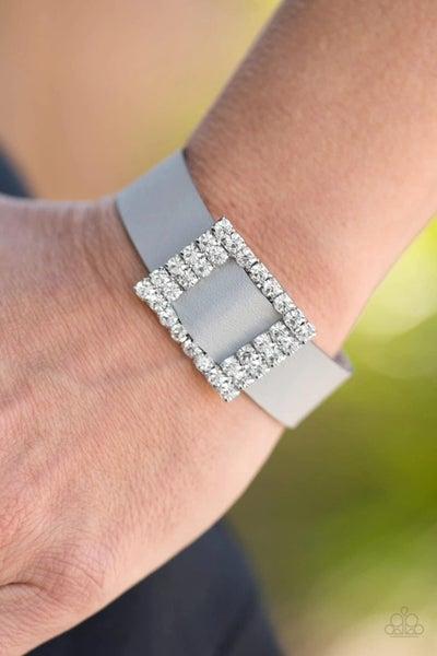 Diamond Diva - Silver Snap Wrap