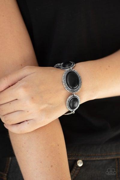 MESA Time Zone - Black Clasp Bracelet