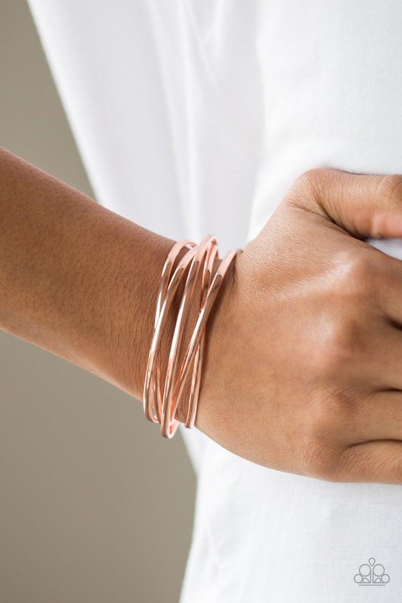 Modest Goddess - Copper Cuff