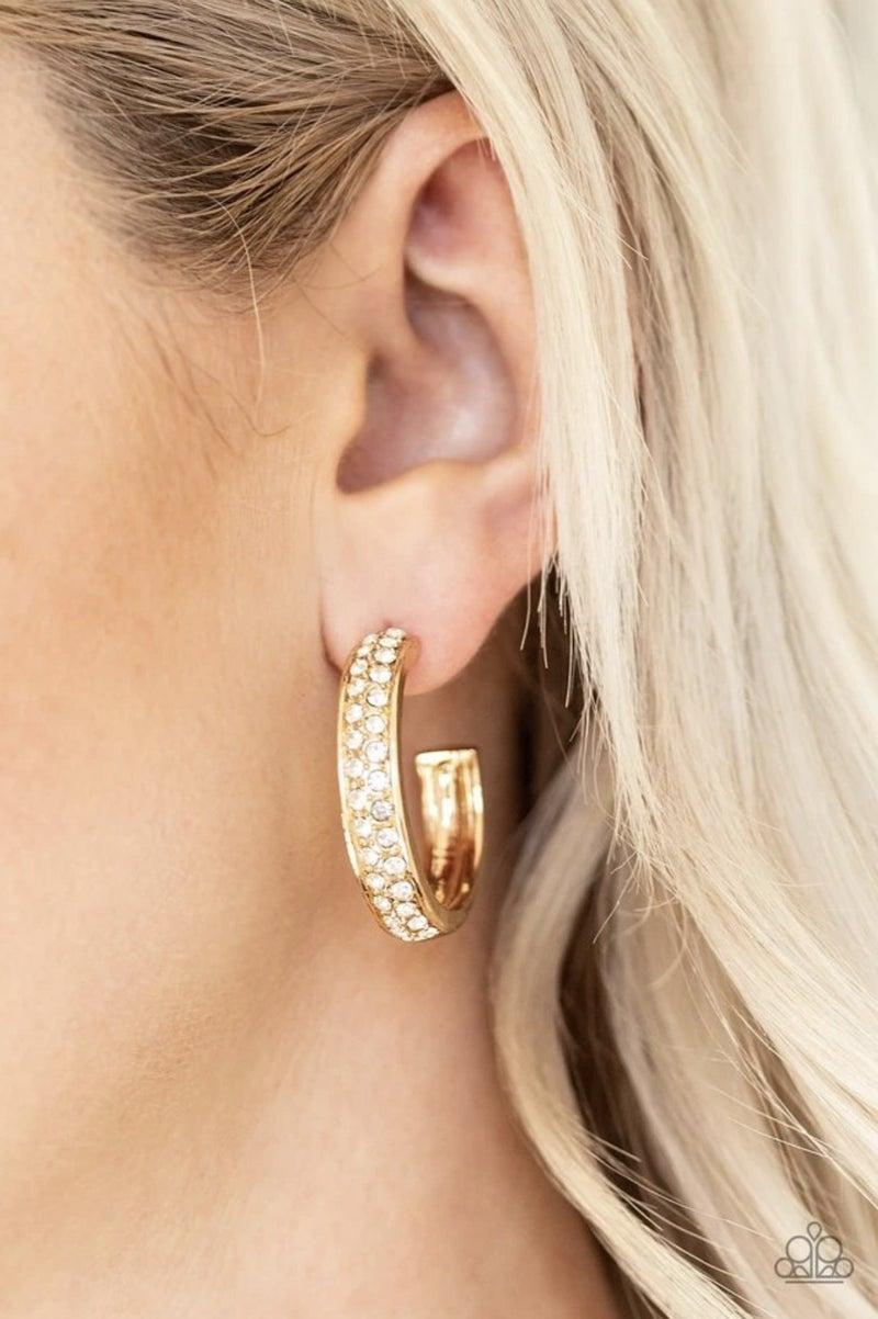 Cash Flow - Gold Hoop Earrings