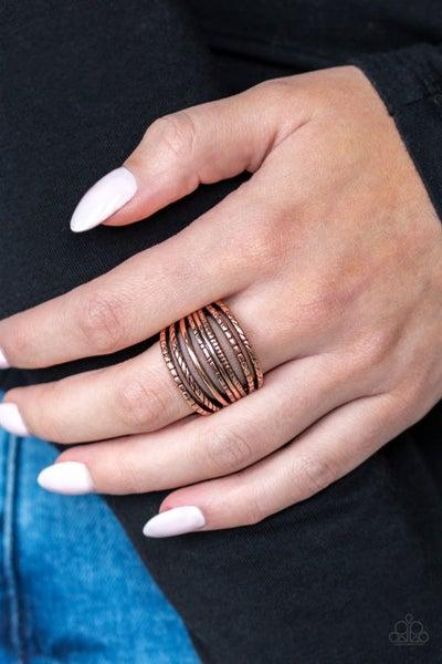 Basic Maverick - Copper Ring
